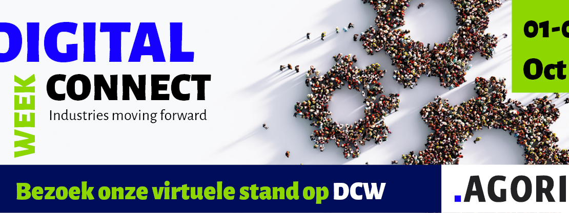Visit our booth at Agoria Digital Connect Week 2020 6