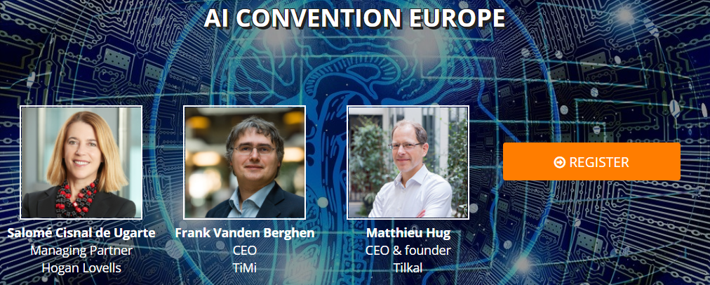 Join Rachel's free webinar at the AI Convention Europe 2020 1