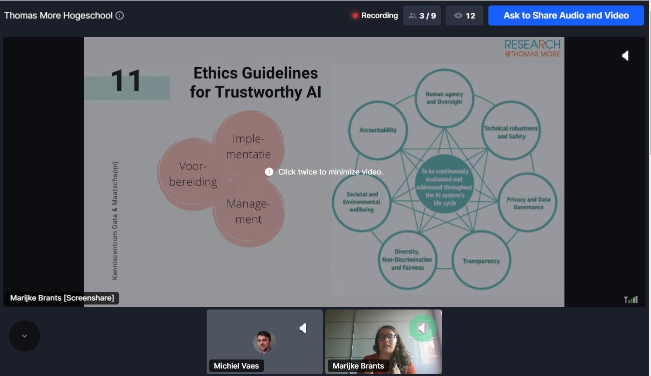 Ethical AI process