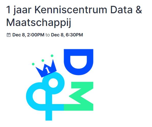 1 jaar Kenniscentrum Data & Maatschappij