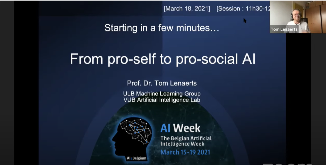 AI for Social Good: Pro-Social AI 1