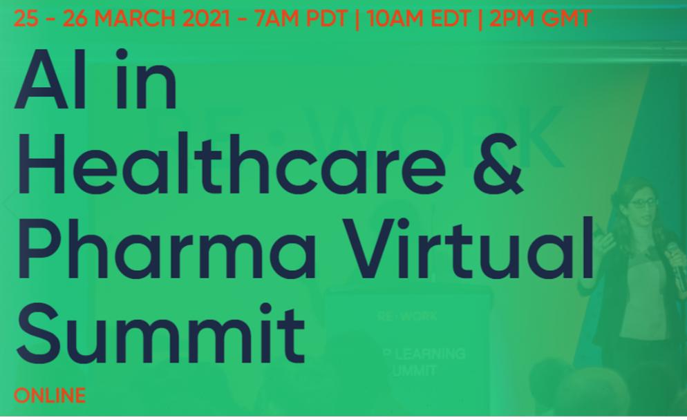 ReWork AI in Healthcare and Pharma Virtual Summit