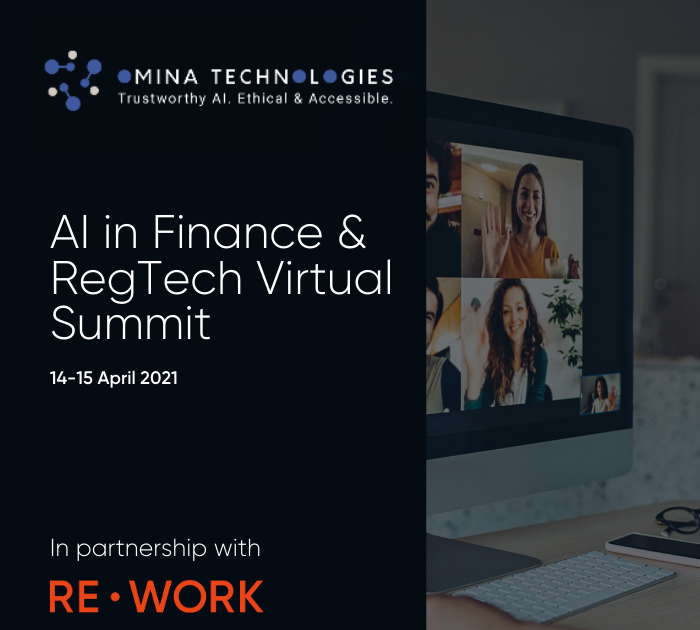 AI in Finance & RegTech Virtual Summit 2021