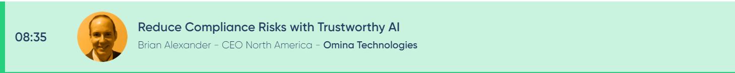Brian Alexander at ReWork AI in Finance and Regtech Virtual Summit 2021